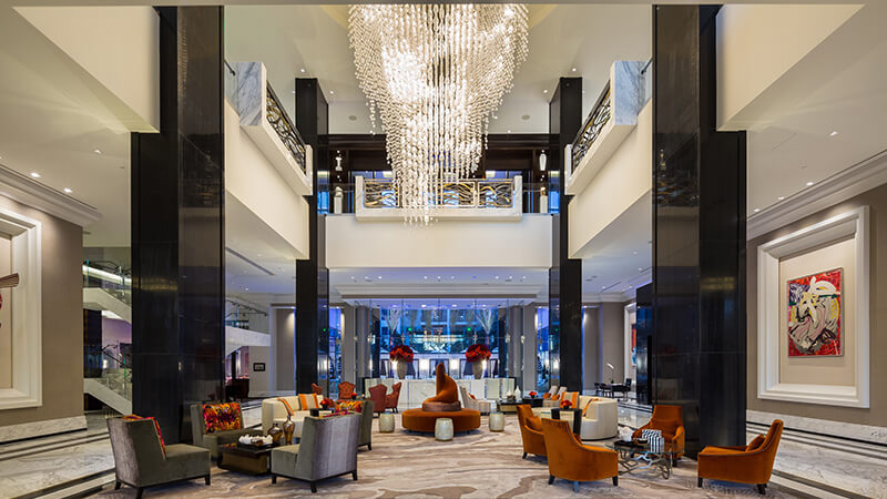 The Post Oak Hotel Lobby - Luxury Hotel