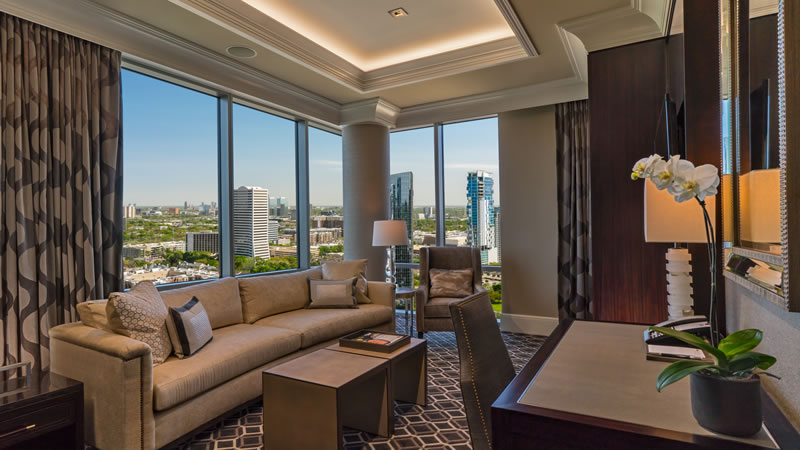 King Guest Room With Concierge Lounge Access In Galleria