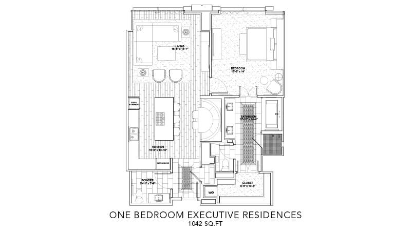 Executive Residence One Bedroom 4