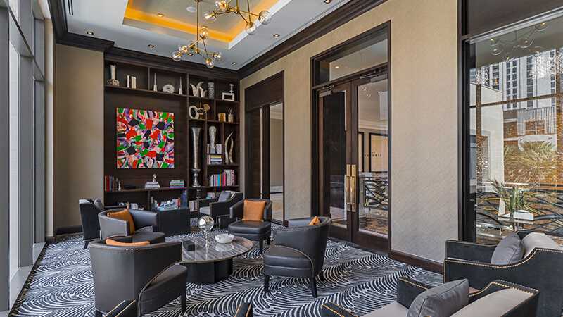 Post Oak Hotel - The Library