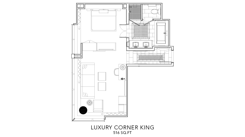 Luxury King - Accessible