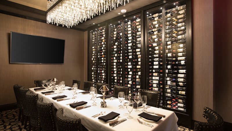 Mastro's Steakhouse - Private Dining Room.