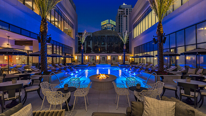 The Pool at The Post Oak Hotel at Uptown Houston
