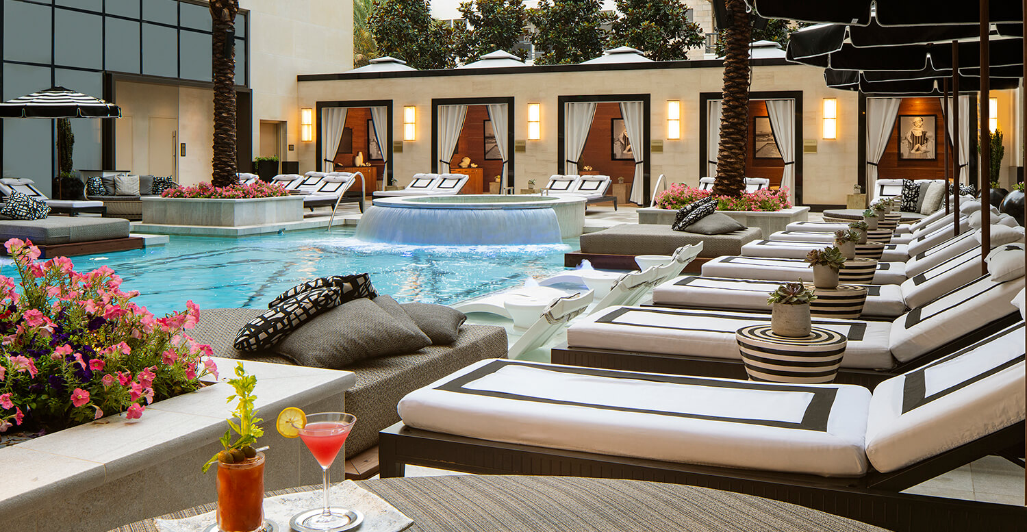 The Post Oak Pool And Cabanas