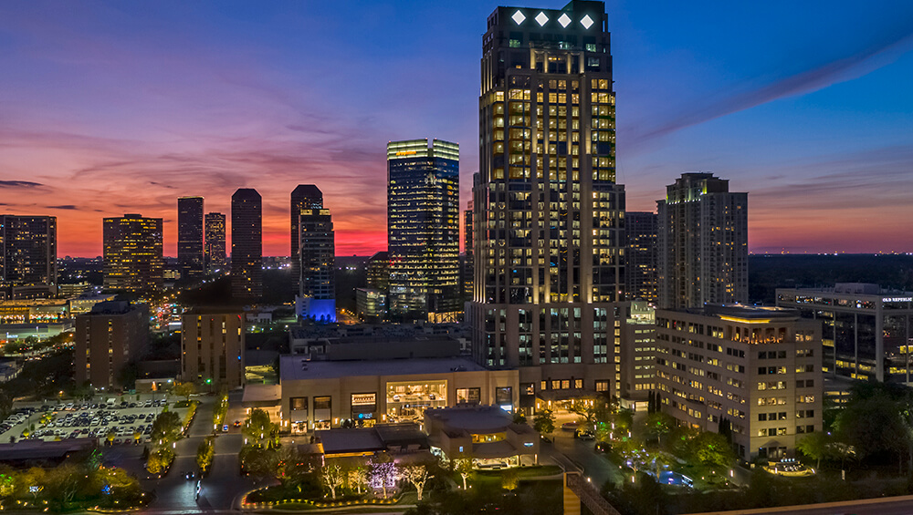 The Luxury Post Oak Hotel Property Map Overview - Houston Galleria