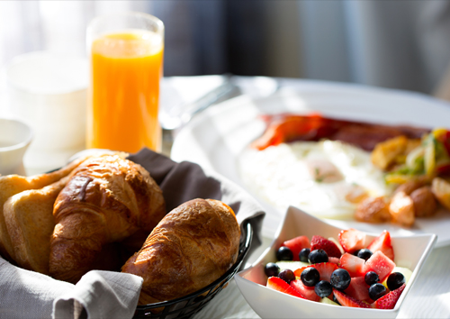 Hearty, Delicious Breakfast at the Post Oak Hotel