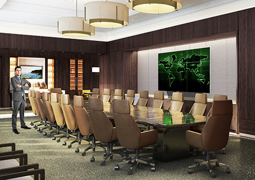 Luxury Boardroom - The Post Oak Hotel
