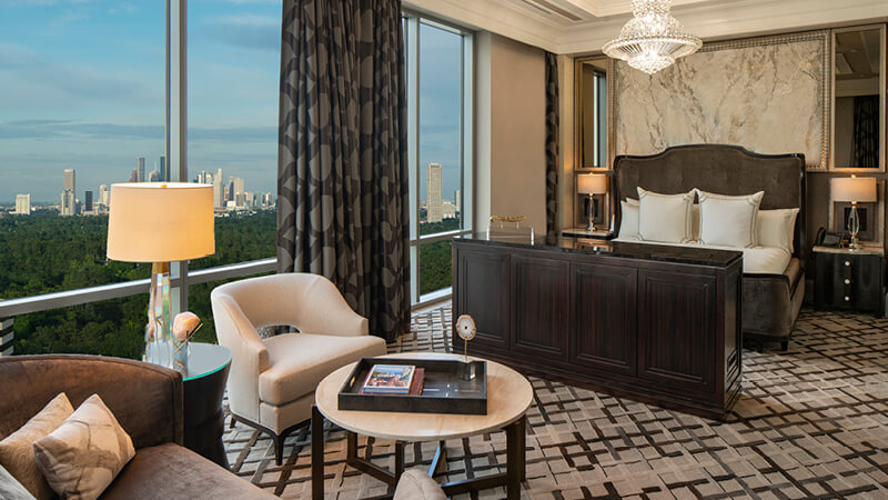 It's Texas-size luxury at The Post Oak Hotel at Uptown Houston