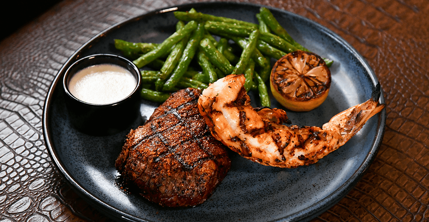 steak and seafood - The Post Oak