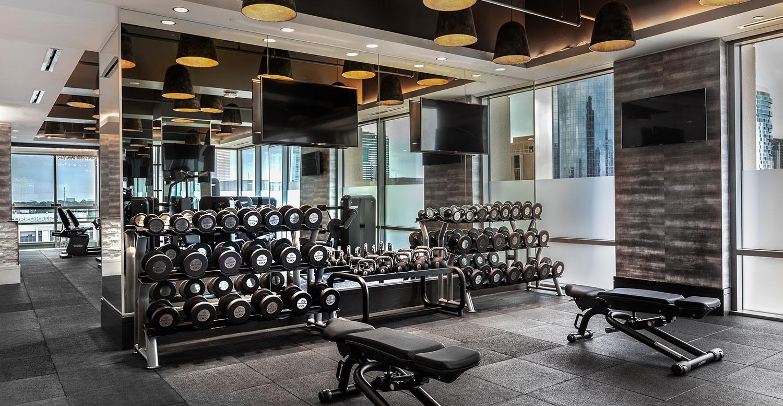 Fabulous Fitness Center The Post Oak Interior Design Ideas Skatsoteloinfo